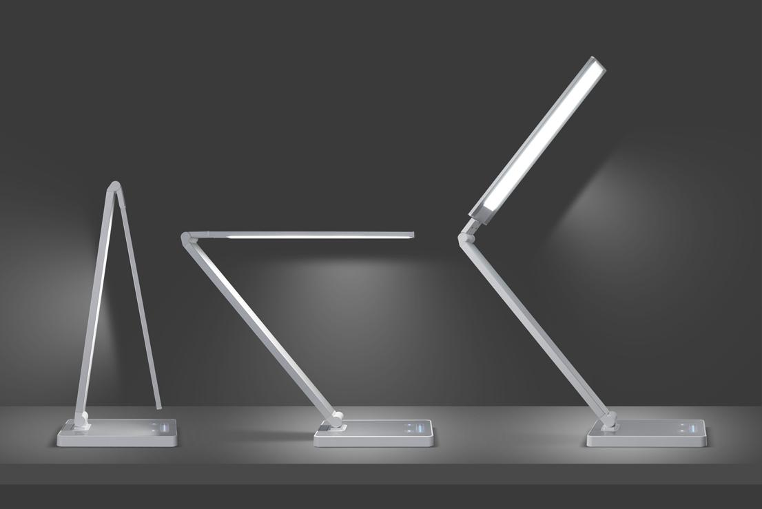 Bauhau. Concise Concept Led Desk Lamp
